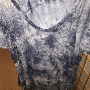 Free People V Neck Flowy Top